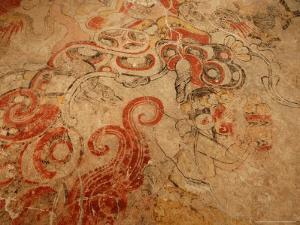 Cave Mouth of the Underworld, Entrance to Flower Mountain, Maya, San Bartolo, Guatemala by Kenneth Garrett