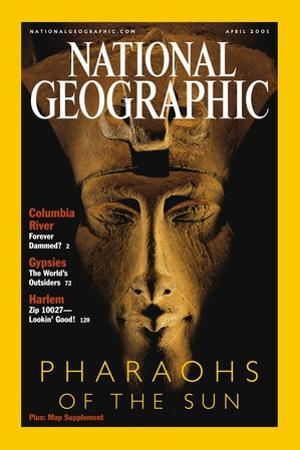 Cover of the April, 2001 National Geographic Magazine