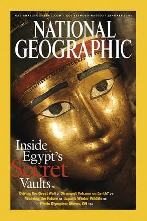 Cover of the January, 2003 National Geographic Magazine