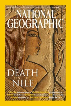 Cover of the October, 2002 National Geographic Magazine