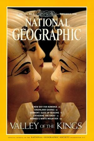 Cover of the September, 1998 National Geographic Magazine