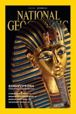 Cover of the September, 2010 National Geographic Magazine by Kenneth Garrett