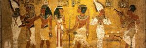 King Tut Tomb Wall, Egypt by Kenneth Garrett