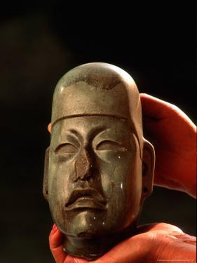 Olmec, Jade, National Museum of Anthropology and History, Mexico City, Mexico by Kenneth Garrett