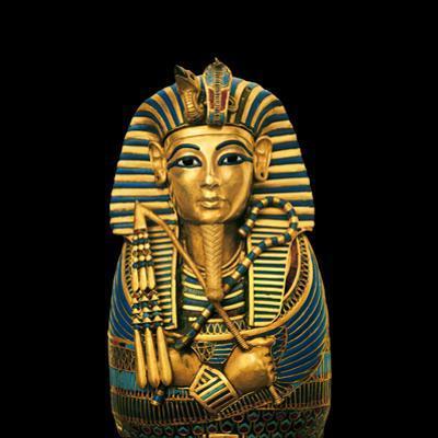 One of four statuettes for the viscera of Tutankhamun. by Kenneth Garrett
