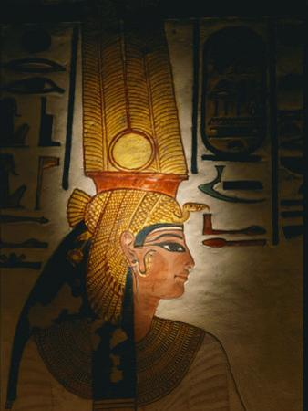 Painting Located in the Tomb of Nefertari