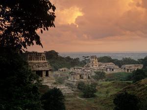 Palenque, Chiapas, Mexico by Kenneth Garrett