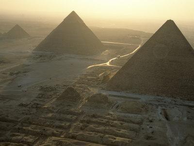 Pyramids at Giza, Giza Plateau, Egypt