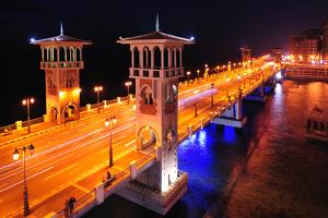 Stanley Bridge Is the Heart of Coastal City of Alexandria by Kenneth Garrett