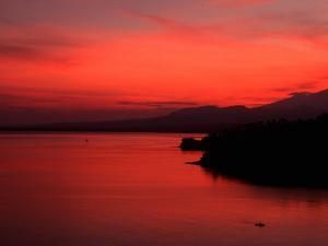 Sunrise, Lombok, Bali, Indonesia by Kenneth Garrett