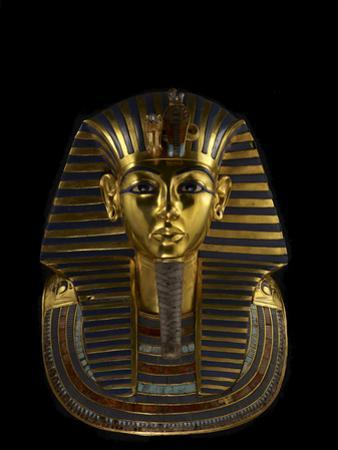The Funerary Mask of King Tutankhamun by Kenneth Garrett