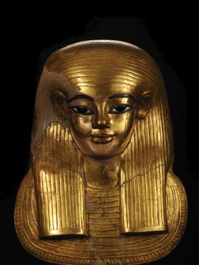The Funerary Mask of Tut's Great-Grandfather, Yuya by Kenneth Garrett