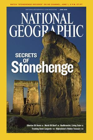 Cover of the June, 2008 National Geographic Magazine by Kenneth Geiger
