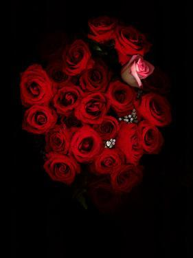 A Bouquet of Red Roses by Kenneth Ginn