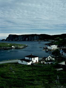 A Small Village on the Avalon Peninsula in Newfoundland, Canada by Kenneth Ginn
