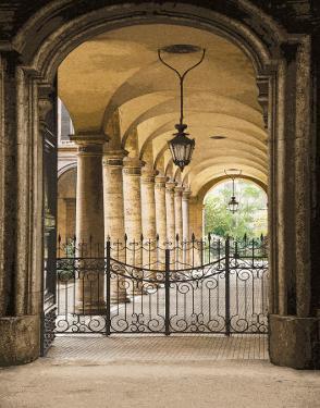 Courtyard Colonnade by Kenneth Gregg