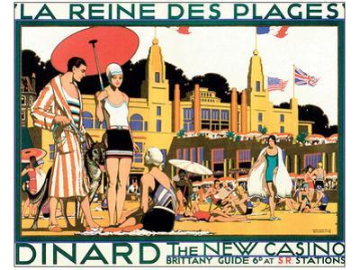 Dinard, La Reine Des Plages by Kenneth Shoesmith