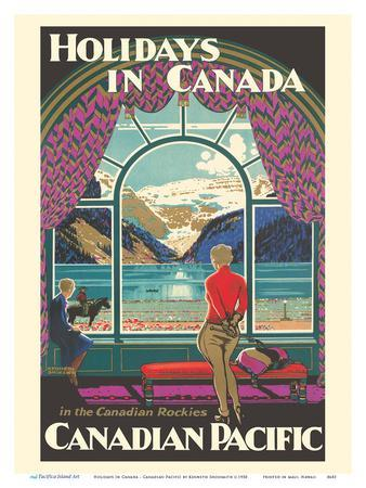 Holidays In Canada - Canadian Rockies - Canadian Pacific Railway