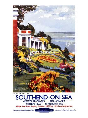 Southend-On-Sea, British Rail, c.1960 by Kenneth Steel