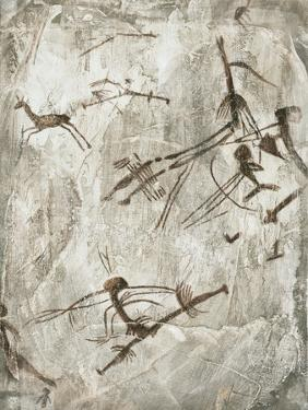 Prehistoric Cave Painting by Kennis and Kennis