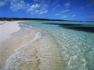 Bahamas. Pristine Beach by Kent Foster