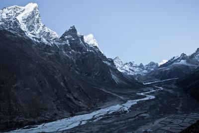 Overlooking the Village of Pheriche in the Khumbu Valley, Nepal
