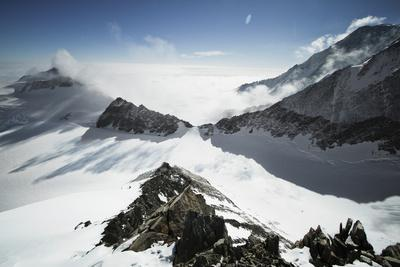 View from High Camp on Mount Vinson, Vinson Massif Antarctica