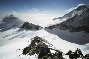 View from High Camp on Mount Vinson, Vinson Massif Antarctica by Kent Harvey
