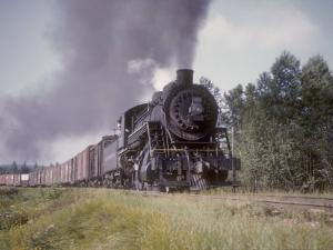 Duluth and Northeastern Railroad 2-8-0 Steam Locomotive No.27 by Kent Kobersteen