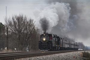 Ex-Southern Railway 2-8-0 Consolidation #630 on a Fantrip by Kent Kobersteen