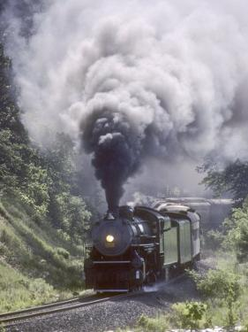Ex-Southern Railway 2-8-2 No.4501 on a Steam Fan Trip by Kent Kobersteen