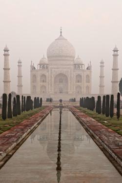 Sunrise At the Taj Mahal by Kent Kobersteen