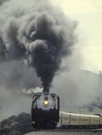 Union Pacific 4-8-4 No.8444, Built by American Locomotive Company in 1944 by Kent Kobersteen