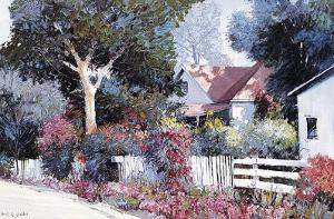 Cottonwood Lane by Kent Wallis