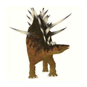 Kentrosaurus Dinosaur from the Jurassic Period
