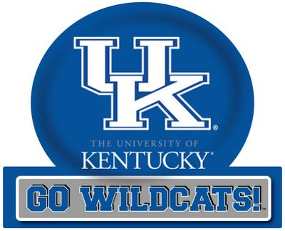 Kentucky Wildcats Jumbo Tailgate Peel & Stick