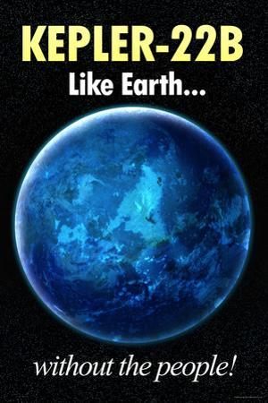 Kepler-22B Earth Without the People Humor