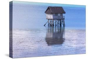 A Small Fishing House in the Water, Bohol Island, Philippines by Keren Su