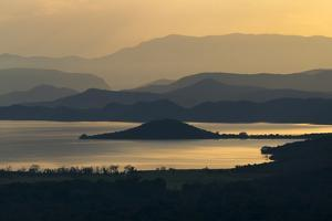 Abaya Lake at sunrise, Arbaminch, Ethiopia by Keren Su