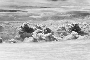 Aerial View of Clouds, Guyana by Keren Su