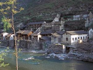 Ancient Town of Ningchang on the Yangtze River, Three Gorges, China by Keren Su
