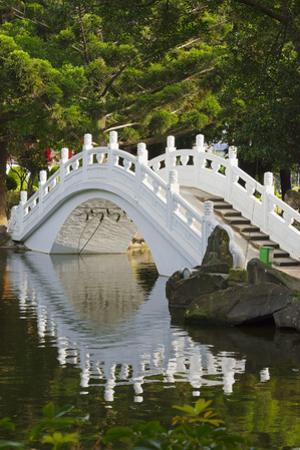 Bridge in Liberty Square garden, Taipei, Taiwan by Keren Su