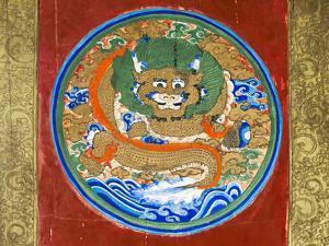 Buddhist mural inside the grotto, Mati Temple Scenic Area. Zhangye, Gansu Province, China. by Keren Su