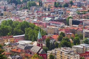 Cityscape of Sarajevo, Bosnia. by Keren Su