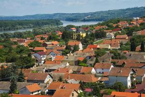 Cityscape of Sremski Karlovci by the Danube River, Serbia by Keren Su