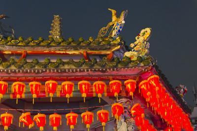 Cixian Temple dedicated to Matsu in Shilin, Taipei, Taiwan by Keren Su