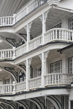 Colonial House at Lim a Postraat, Paramaribo, Suriname by Keren Su