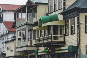 Colonial House in the Historic Center of Paramaribo (UNESCO), Suriname by Keren Su