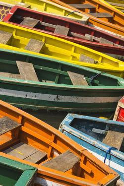 Colorful Boats, Manila, Philippines by Keren Su