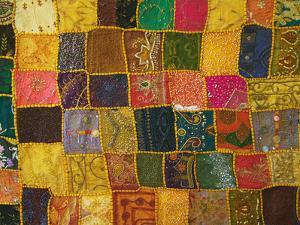 Colorful Carpet, Pushkar, Rajasthan, India by Keren Su